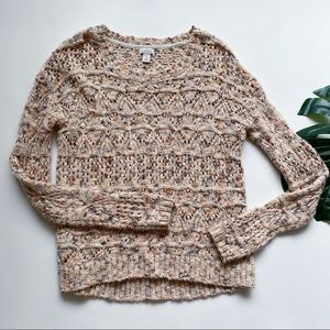 HINGE    KNITTED    WOOL MOHAIR BLEND SWEATER b6